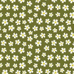 Ditsy Floral on Sage