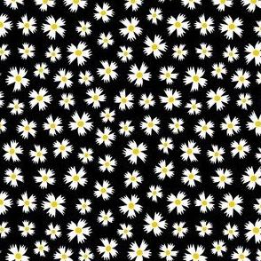 Ditsy Floral on Black