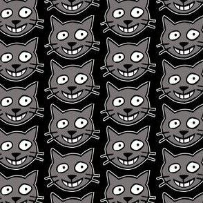 Happy Cats - gray