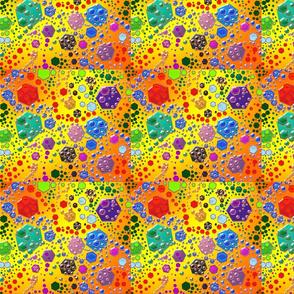 Geometric Hexagon Explosion