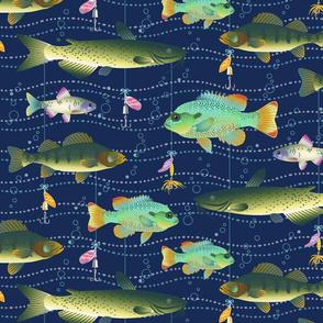 Lake Fish & Lures
