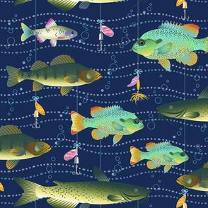 Lake Fish & Lures-L