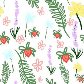 Scandinavian Spring- White