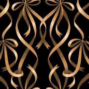 Ribbons - Gold / Black