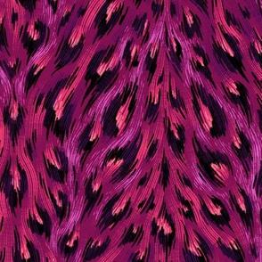 Leopard Print - Deep Purple