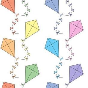 Pastel kites (small)