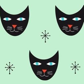 Retro Kitty-Mint