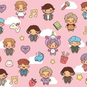 BTS Pajama Party (Pink)