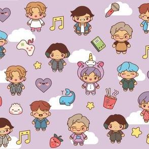 BTS Pajama Party (Purple)