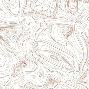 contour map (rust)