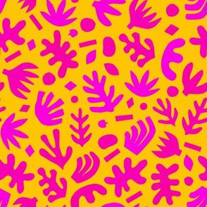 Matisse Paper Cuts // Neon