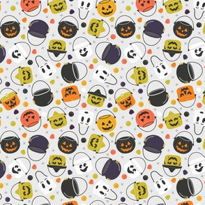 Halloween Candy Buckets | Small Scale