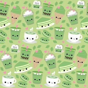 Happy Green Tea Matcha Light Green