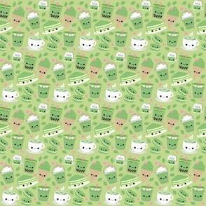 Happy Green Tea Matcha Light Green - Small