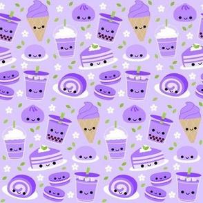 Happy Ube Purple Yam Desserts Lavender