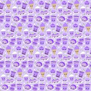 Happy Ube Purple Yam Desserts Lavender - Small