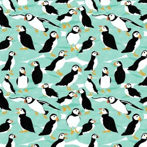 Fluffy Puffins - Small