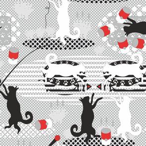 Pop-art cats