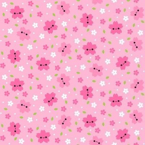Happy Cherry Blossom Sakura Light Pink