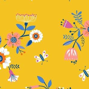 Secret Garden Yellow