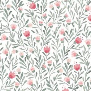 Primrose Bloom { Dusty Rose }