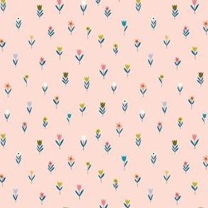 Wee Flowers Blush
