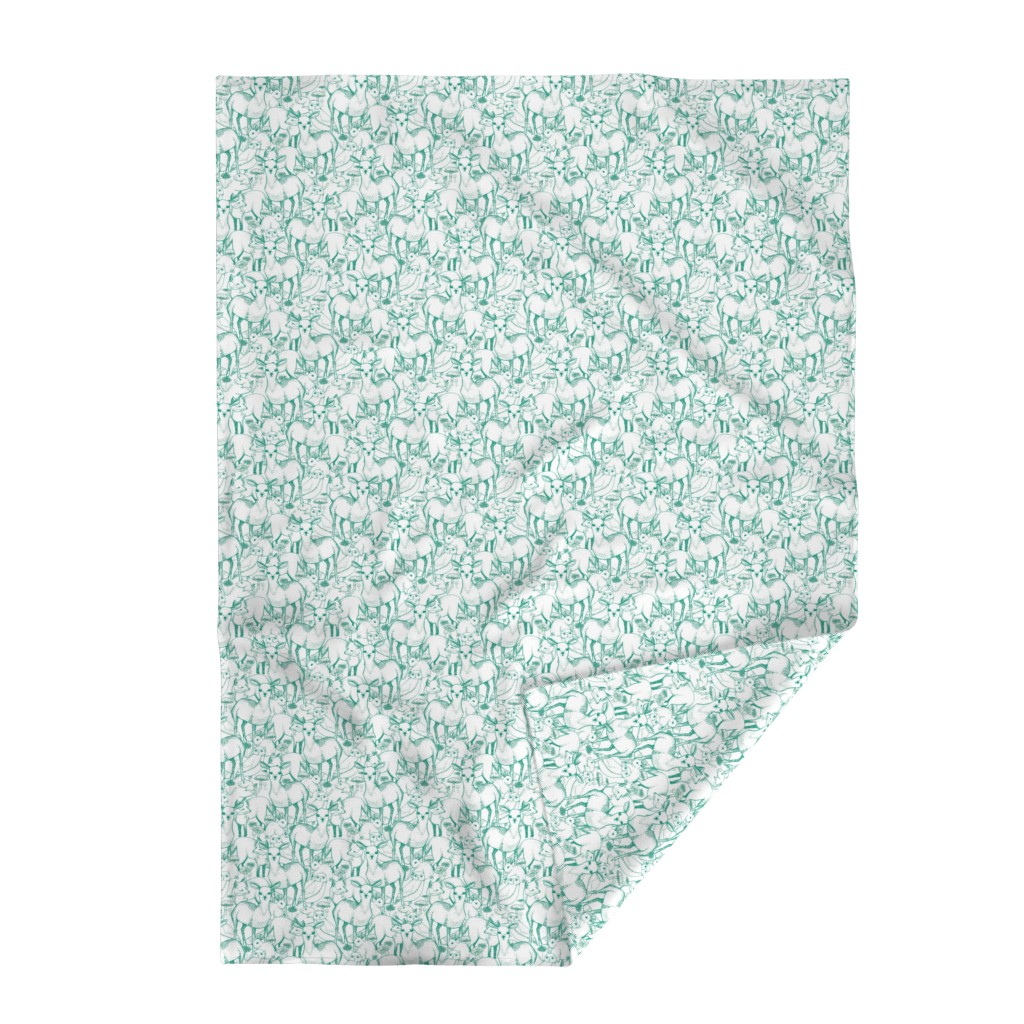 Lakenvelder Throw Blanket featuring Woodland (Green) by lydia_meiying