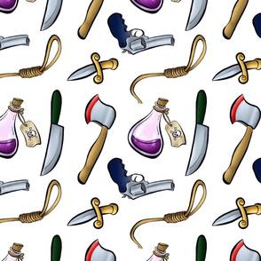 Murdery Weapons