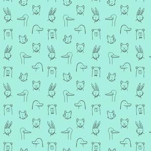 Happy Animals-Quartre-Aqua