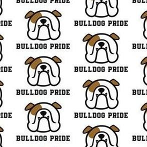 English Bulldog pride - Bulldog mascot - Bully pride