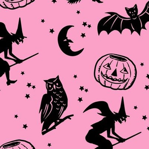 Bats and Jacks ~ Pink 2