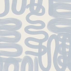 squiggle soft blue AND CREAM