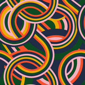 Modernist swirl - Mix it up collection