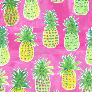 Pink Pineapple Party