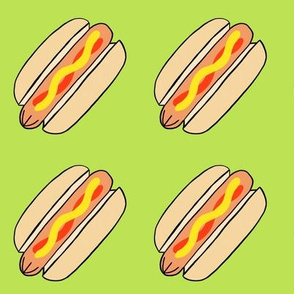 Hot dogs - custom lime