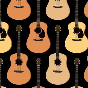 Acoustic Guitars Black