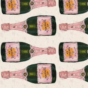 champagne bottles - half size rotated