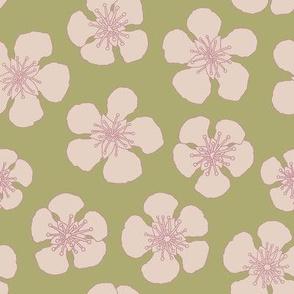 """Pear Blossom 1 (8"""") - straw"""