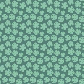 "Pear Blossom 2 (2"") - aqua"