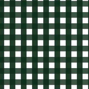 Evergreen Tree Gingham |Tri-Tone Green Check|Renee Davis