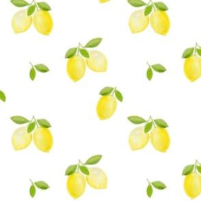 Tropical Watercolor Fruit