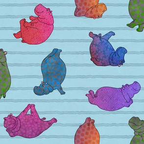 Hippo Workout 'patterned'