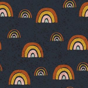 Rainbows on Navy