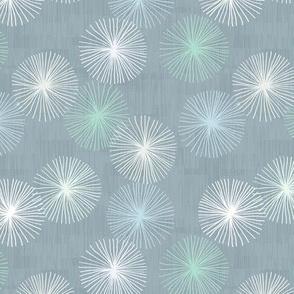 Small Dandelions M+M Confetti Smoke by Friztin