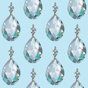Crystal Blue Persuasion- Light, Large