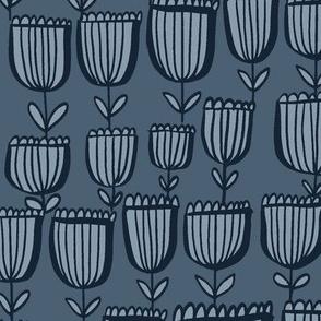 Sweet Tulips - Midnight Blue