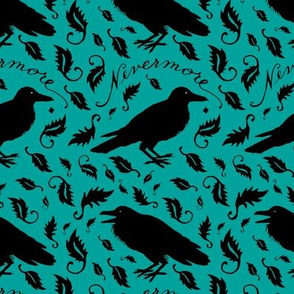 nevermore - teal