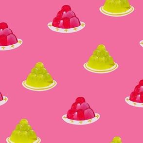 Mini Retro Jellies Pink