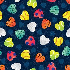 I Heart Sports by ArtfulFreddy