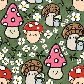 Kawaii mushrooms